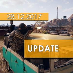Обновление PUBG от 28.12.2017
